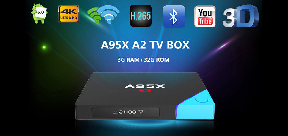 Nexbox A95X A2 Octa Core 4K Android 7 0 TV BOX 2G/16G -AETechbd