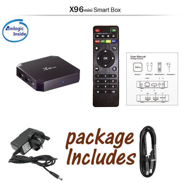 X96 MINI Android 7 1 TV Box -AETechbd